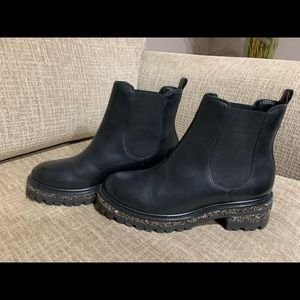 London Dune Leather Boots